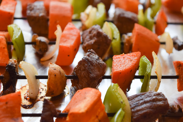 Easy Oven Kabobs