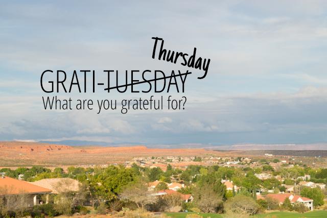 Grati…Thursday