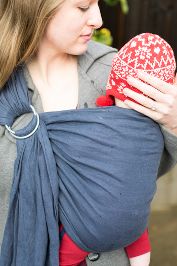Diy Ring Sling Sewing Tutorial The Doing Things Blog