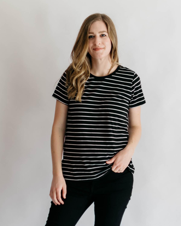 My 3 Favorite Knit T-Shirt Patterns