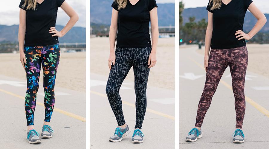 Avery Leggings + Pine Crest Fabrics