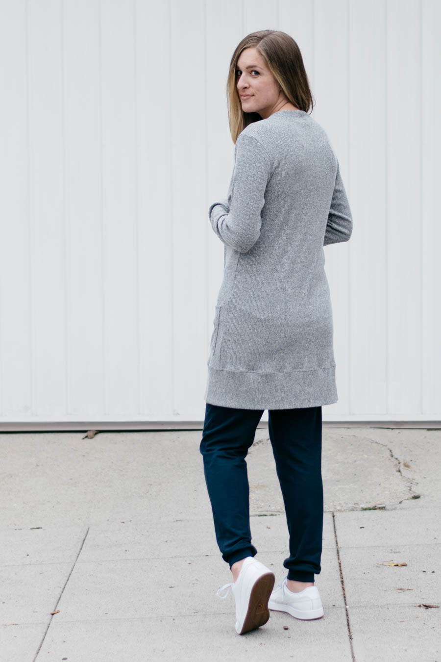 Blackwood Cardigan + No Sweat Pants