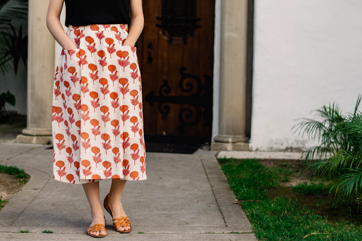 Patti Pocket Skirt + theDelhiStore