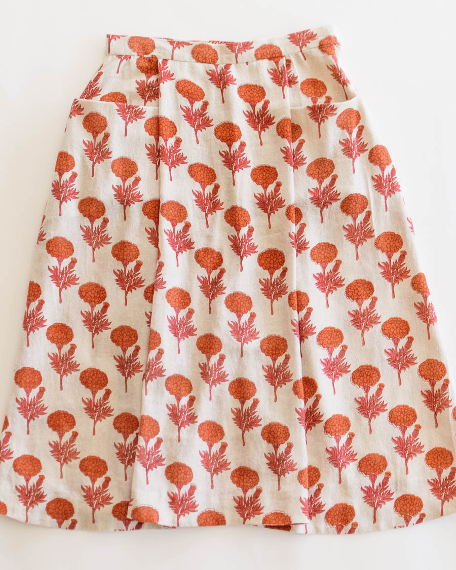 theDelhiStore Marigold Print