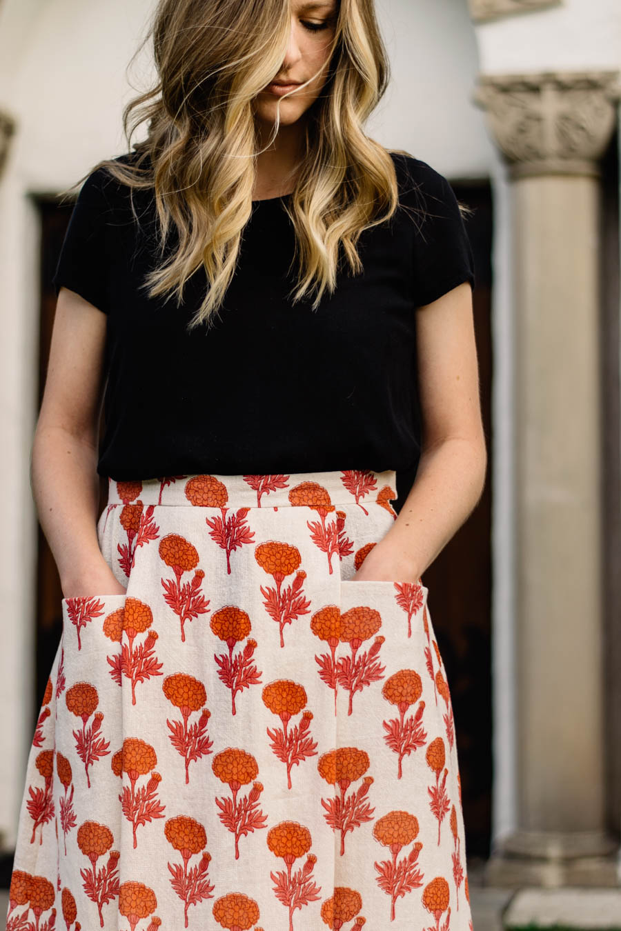 Patti Pocket Skirt by Amy Nicole Studio