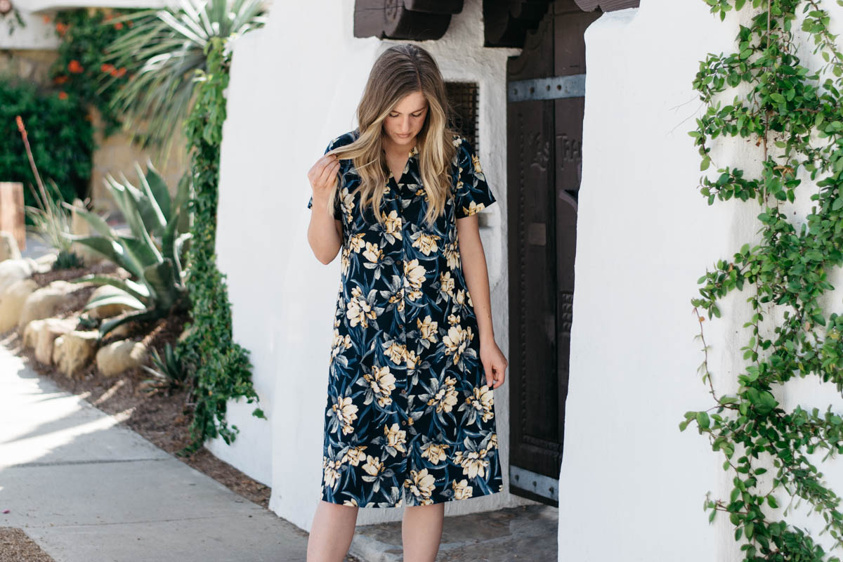 Bonn Dress by Itch to Stitch