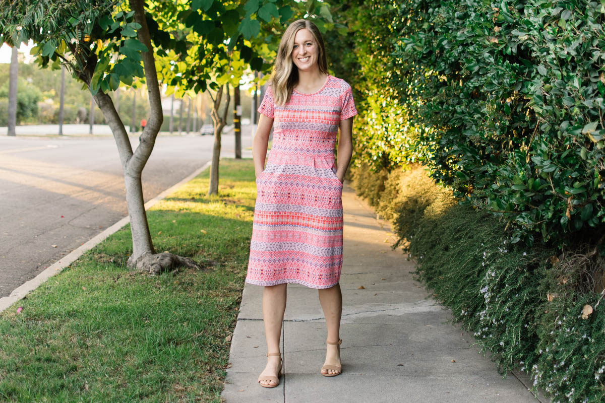 Charleston Dress [low bust adjustment]