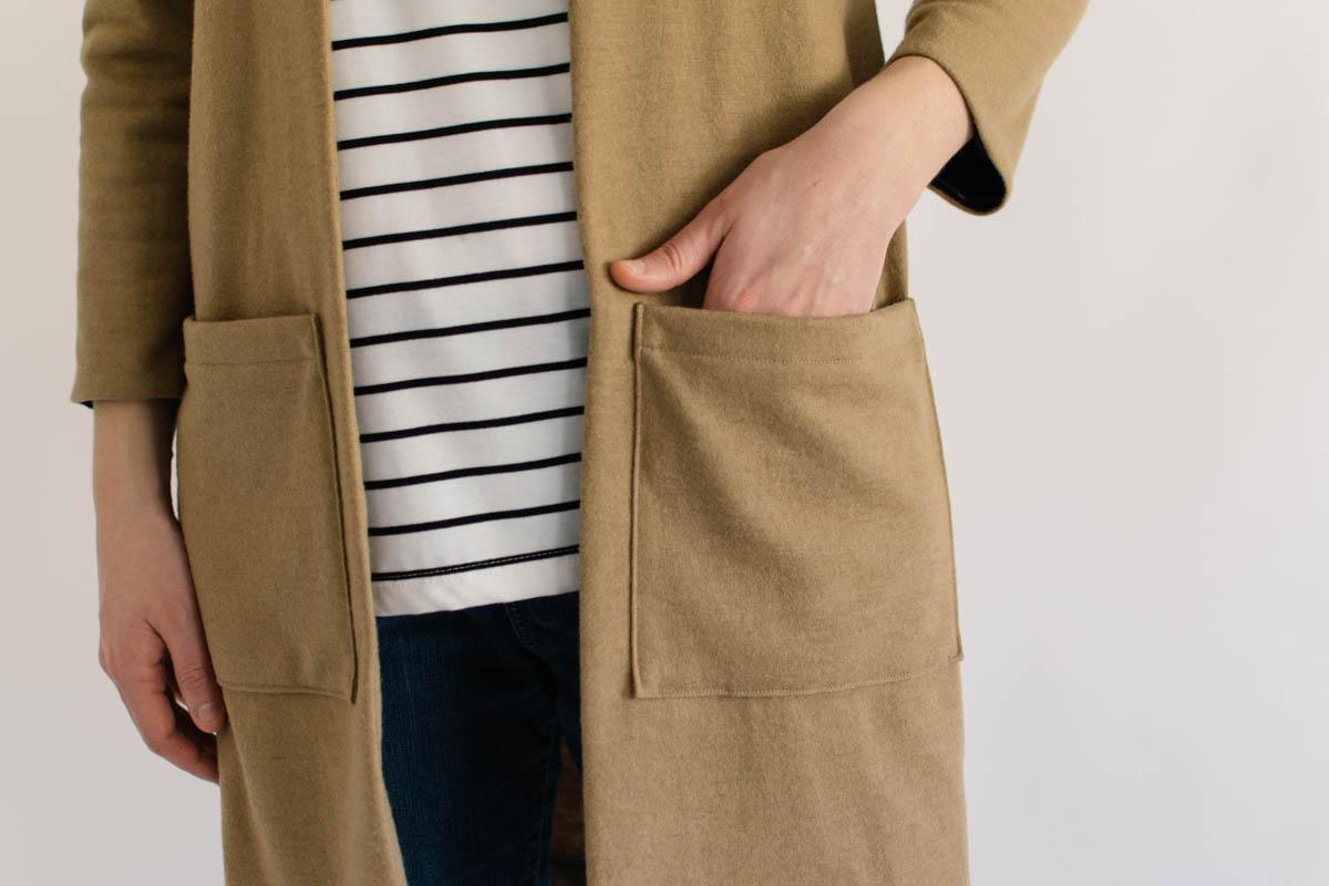 Fulton Sweater Blazer by Alina Design Co.