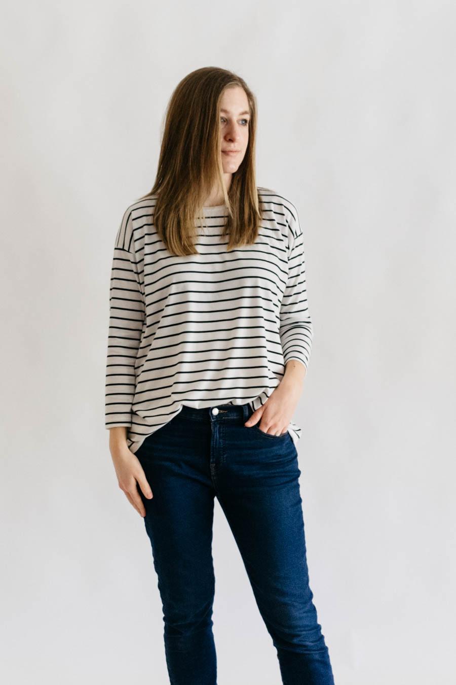Monroe Turtleneck + D&H Fabrics