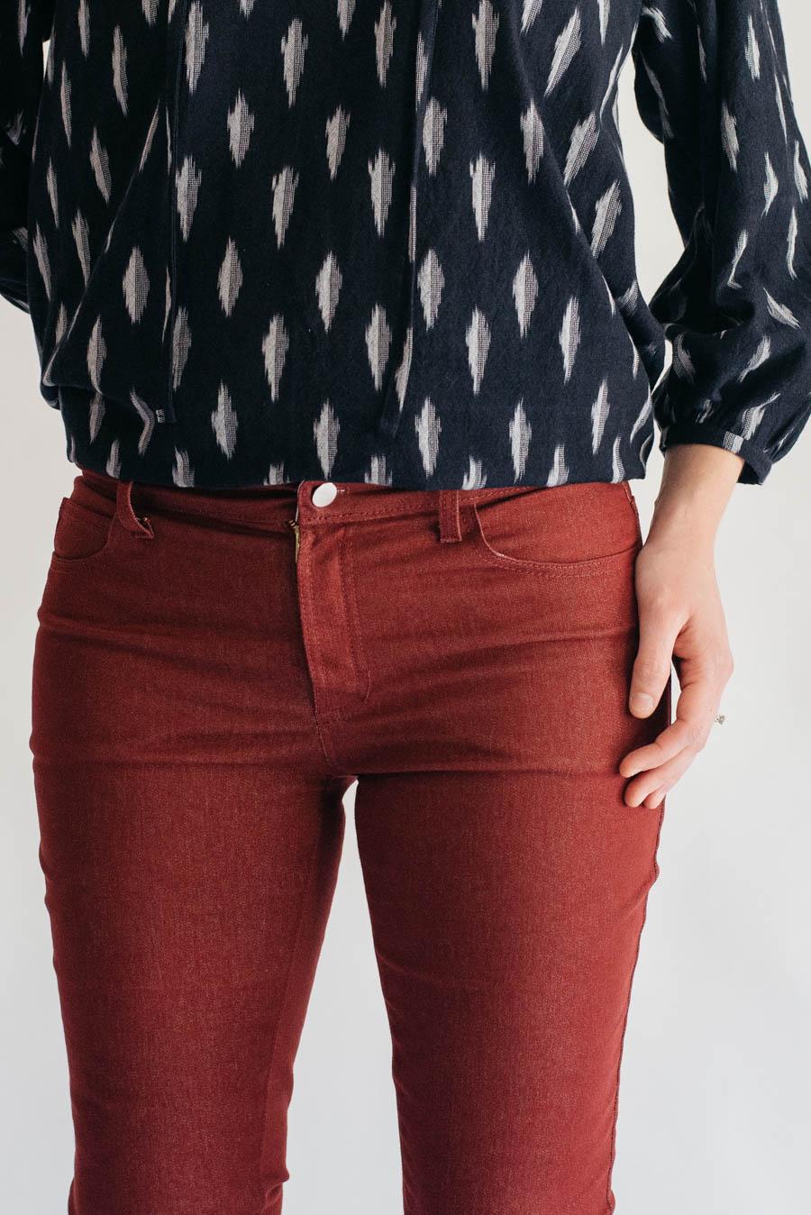 Ginger Jeans + Roscoe Blouse