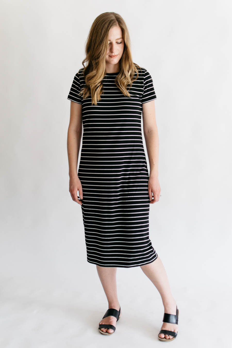 Panama Tee Dress + D&H Fabrics