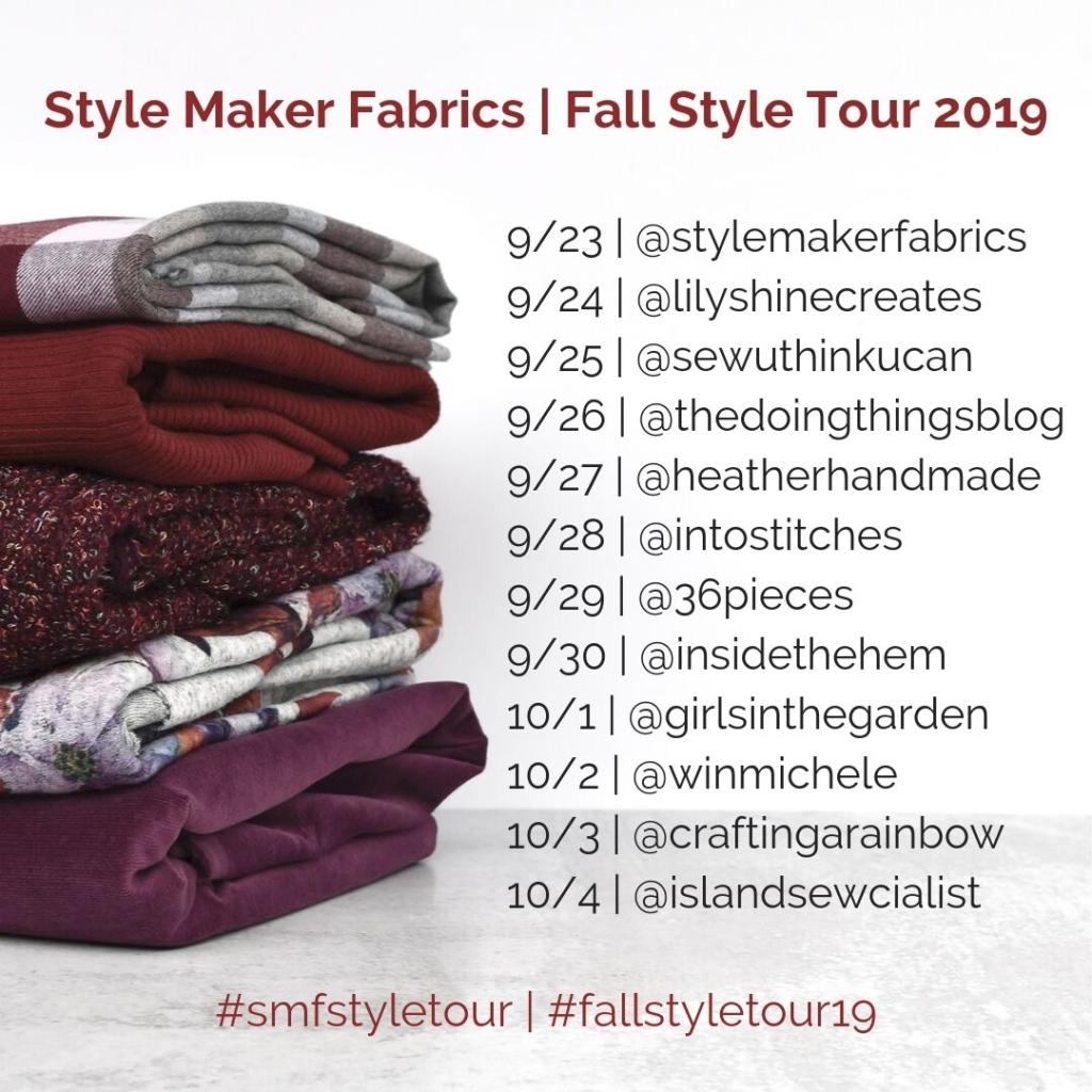 Style Maker Fabrics | Fall Style Tour 2019