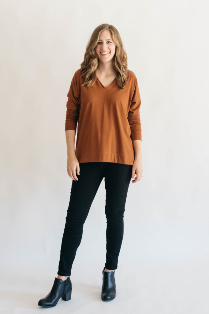 Tabor V-Neck by Sew House 7