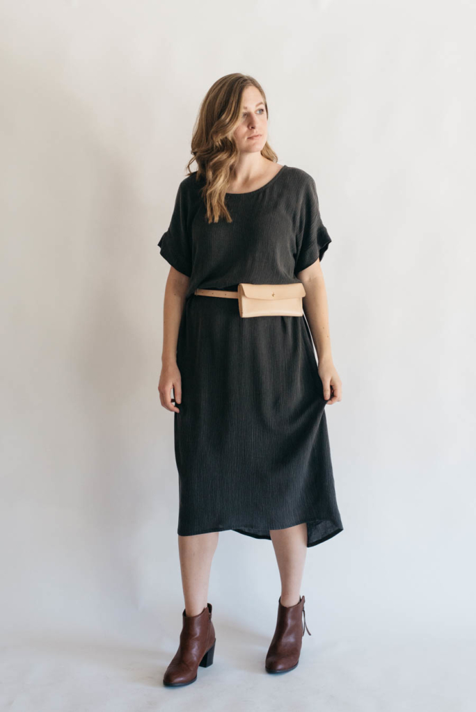 Lou Box Dress 1 by Sew DIY