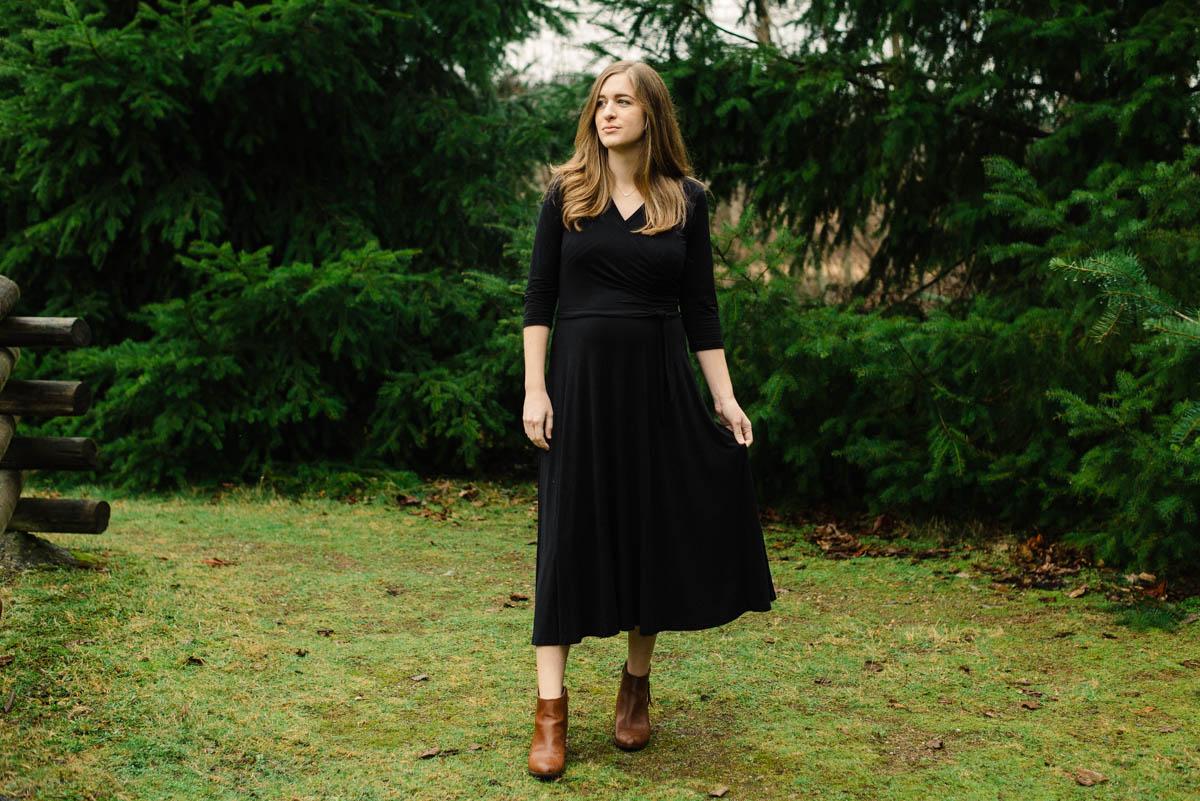 Joanne Faux Wrap Dress