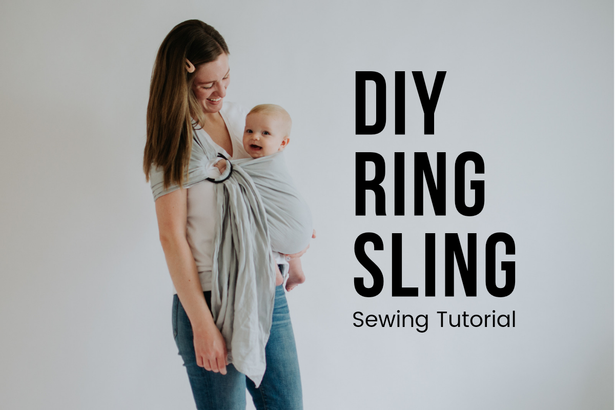 DIY Ring Sling – Sewing Tutorial