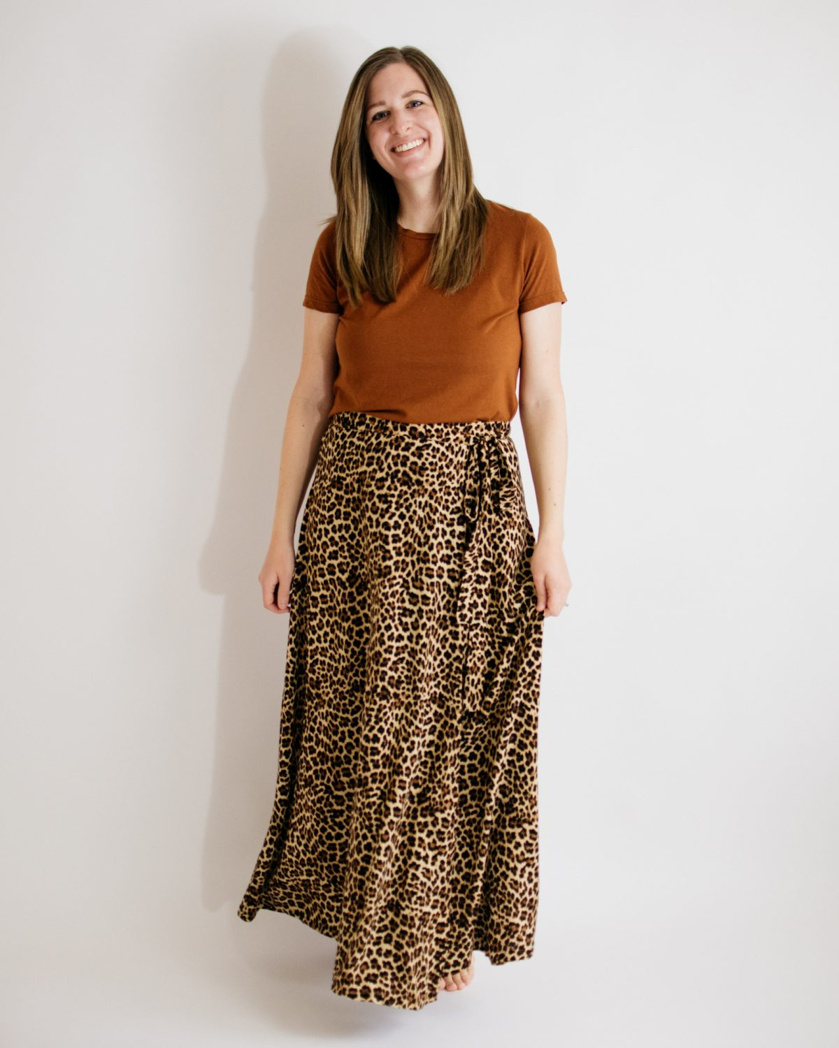 2020 Birthday Outfit: Panama Tee + Wrap Skirt
