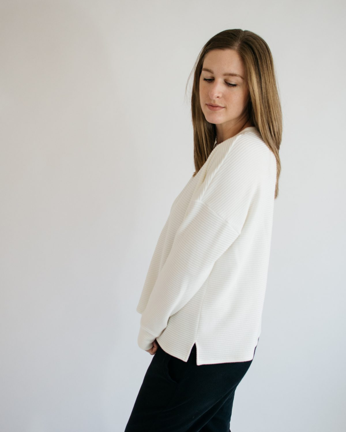 Staying Cozy in the Jarrah Sweater