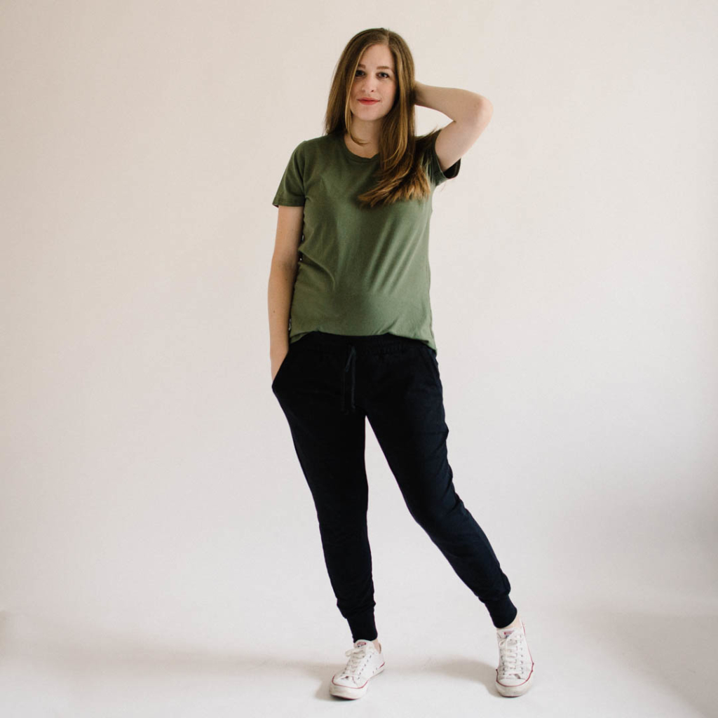 Union St Tee and Hudson Pants
