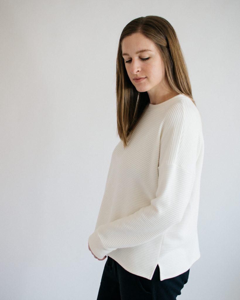 Jarrah Sweater by Megan Nielsen