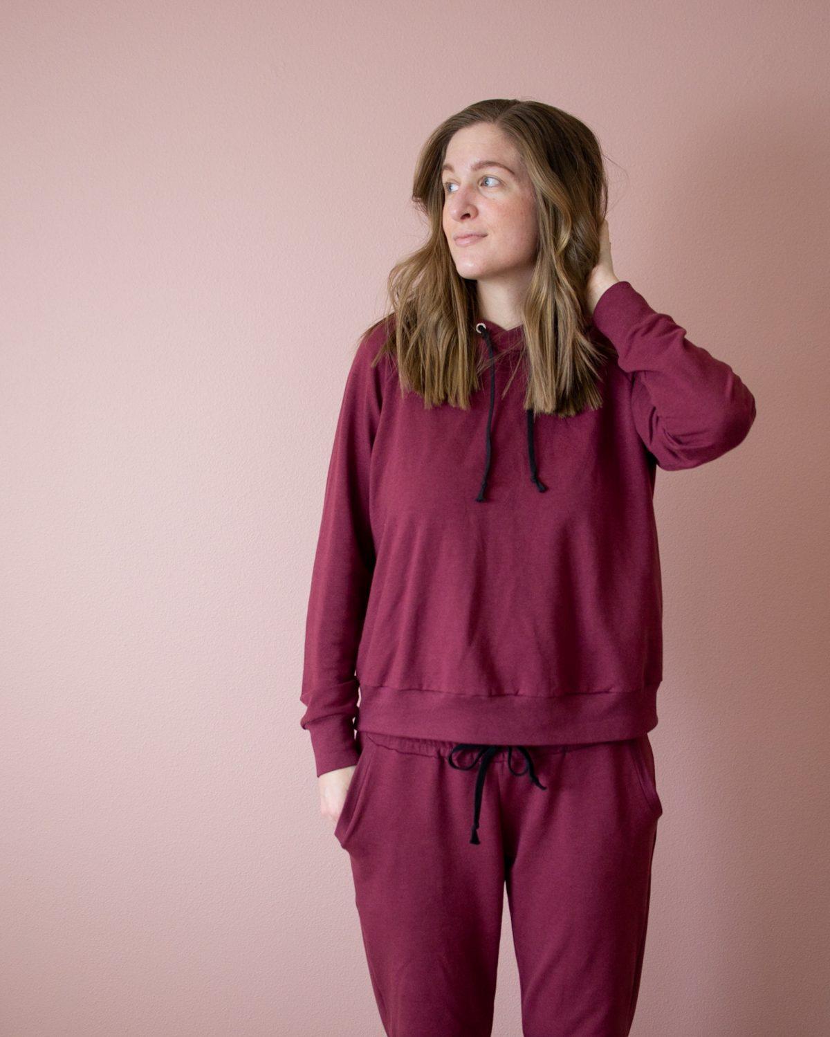 Pink Loungewear Ft. Page Hoodie + Hudson Pants