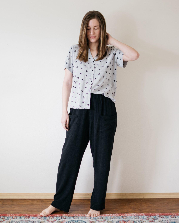 Bonn Shirt x Key Largo Top Mashup and Pomona Pants