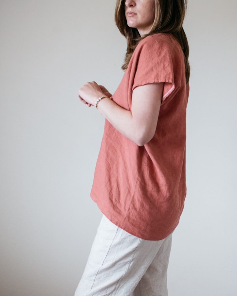 Free Range Slacks + Envelope Dress Refashion