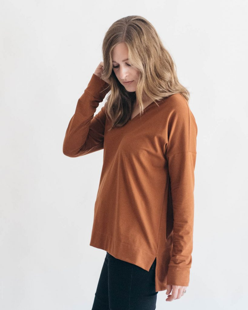 Tabor V-Neck by Sew House Seven