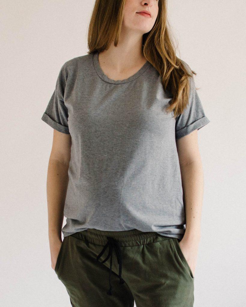 Astair Tee by French Navy