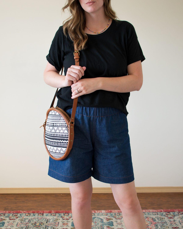 Mid-Rise Pomona Shorts