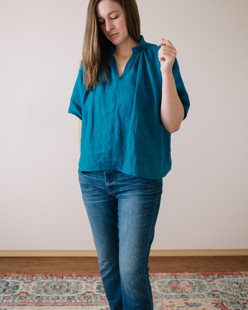 Matcha Top by Sew Liberated