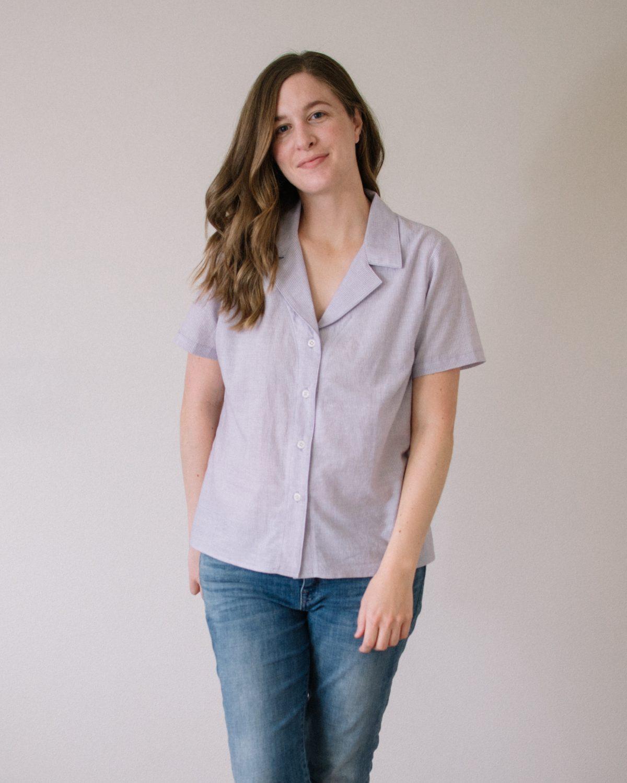 Carolyn PJ Top + Willamette Shirt Mashup Update