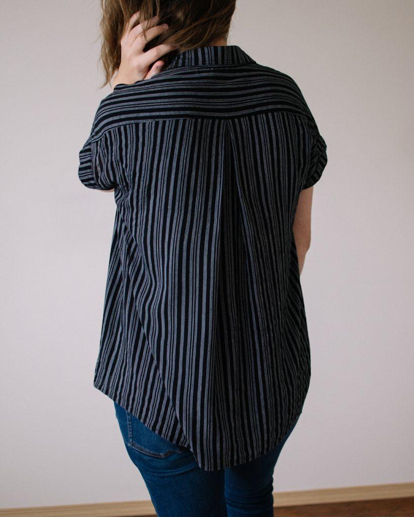 Crinkle Rayon Crepe - Kalle Shirt